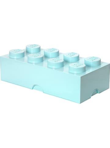 """LEGO Aufbewahrungsbox """"Brick 8"""" in Hellblau - (B)50 x (H)18 x (T)25 cm"""