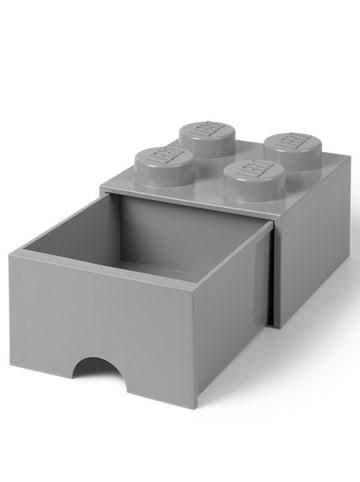 "LEGO Ladebox ""Brick 4"" grijs - (B)25 x (H)18 x (D)25 cm"