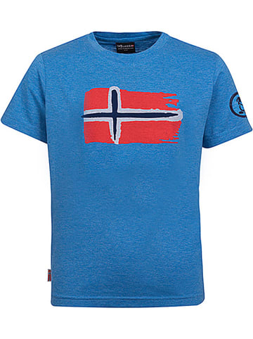 "Trollkids Functioneel shirt ""Oslo"" blauw"