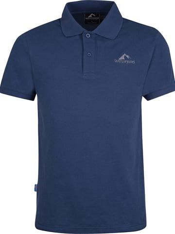 "Westfjord Poloshirt ""Hekla"" in Blau"