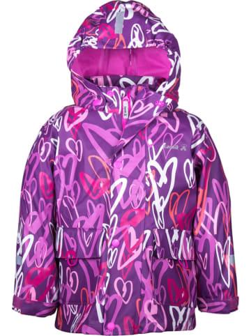 Kamik Kurtka przeciwdeszczowa w kolorze fioletowym