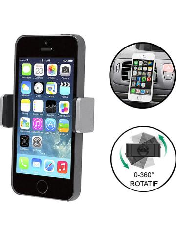 Evetane Autoventilatierooster-smartphonehouder zilverkleurig