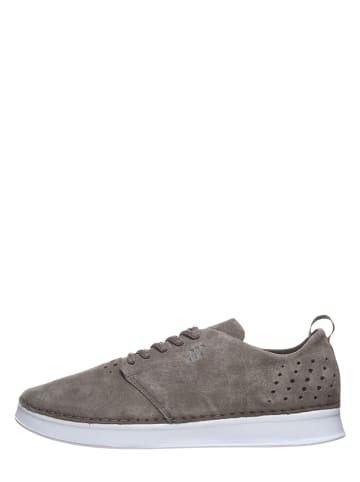 """Boxfresh Leder-Sneakers """"Carle"""" in Taupe"""
