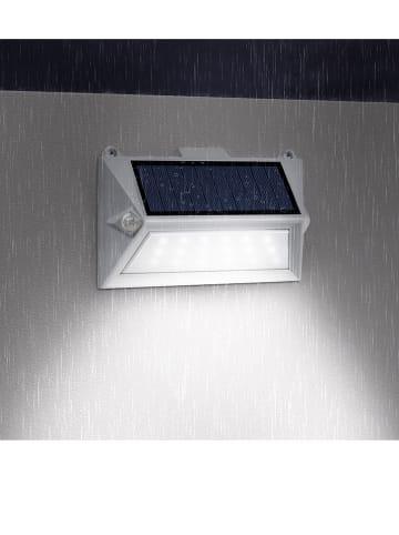 """Lumisky Solarna lampa LED """"Poly"""" w kolorze białym - 16 x 11 cm"""