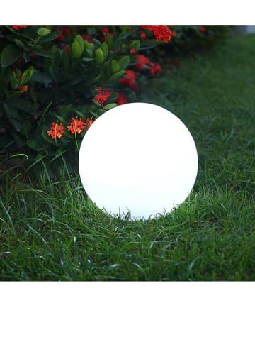 """Lumisky Solarna lampa LED """"Solsty"""" w kolorze białym - Ø 30 cm"""