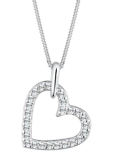 Julie & Grace Silber-Halskette mit Anhänger - (L)45 cm
