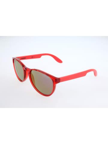 """Carrera Okulary przeciwsłoneczne """"CARRERINO 16"""" w kolorze czerwonym"""