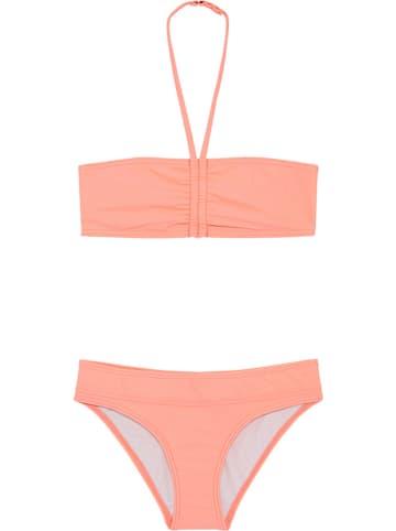 """Chiemsee Bikini """"Ebony"""" w kolorze brzoskwiniowym"""