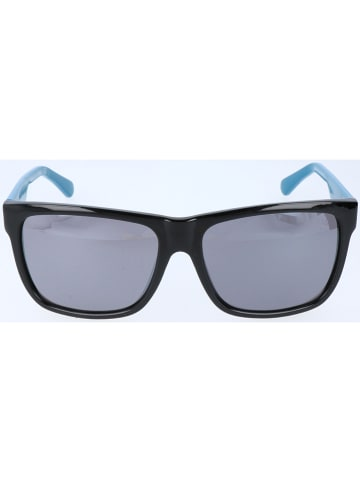 Guess Herren-Sonnenbrille in Schwarz-Blau/ Grau