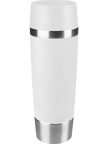 """Emsa Kubek termiczny """"Travel Mug Grande"""" w kolorze białym - 500 ml"""