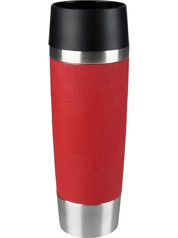 "Emsa Isolierbecher ""Travel Mug Grande"" in Rot - 500 ml"