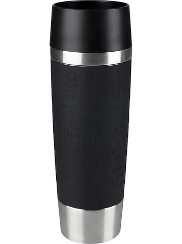 """Emsa Kubek termiczny """"Travel Mug Grande"""" w kolorze czarnym - 500 ml"""