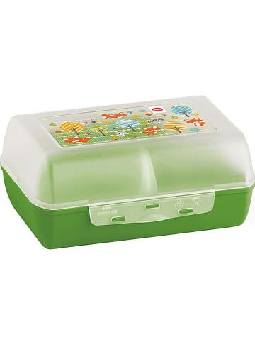 "Emsa Lunchbox ""Variabolo"" groen - (B)16 x (H)7 x (D)11 cm"