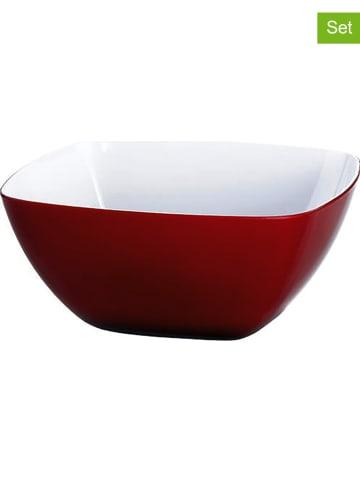 """Emsa Miski (2 szt.) """"Vienna"""" w kolorze czerwonym - 600 ml"""