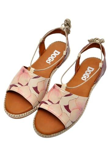 "Dogo Sandalen ""Sweetness"" paars/beige"