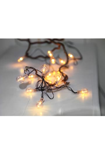 "Best Season Girlanda LED ""Glow Lights"" w kolorze czarnym - dł. 240 cm"