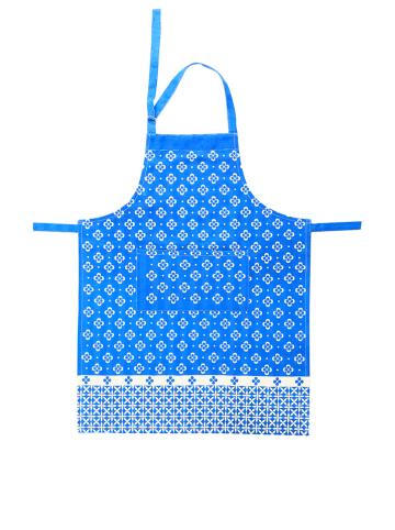 """Overbeck and Friends Schürze """"Liv"""" in Blau - (L)90 x (B)70 cm"""