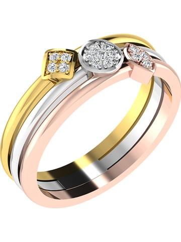 Royal Diamant Złoty pierścionek z diamentem