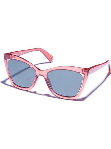 Max&Co Damskie okulary przeciwsłoneczne w kolorze jasnoróżowo-zielonym