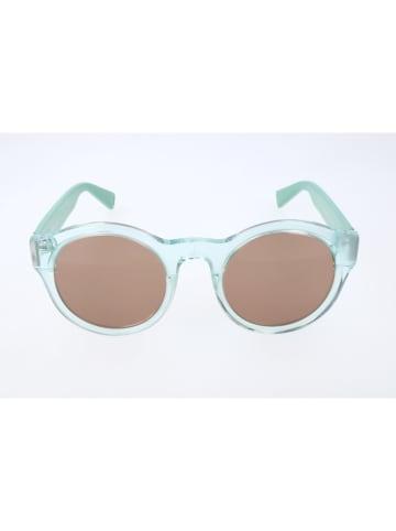 Max&Co Damskie okulary przeciwsłoneczne w kolorze turkusowo-brązowym