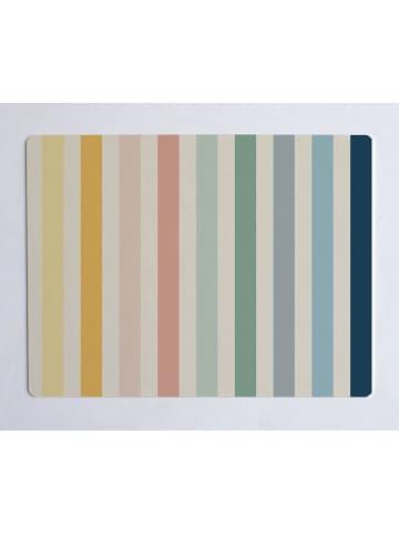 """Little nice things Schreibtischunterlage """"Stripes"""" in Bunt - (L)55 x (B)35 cm"""