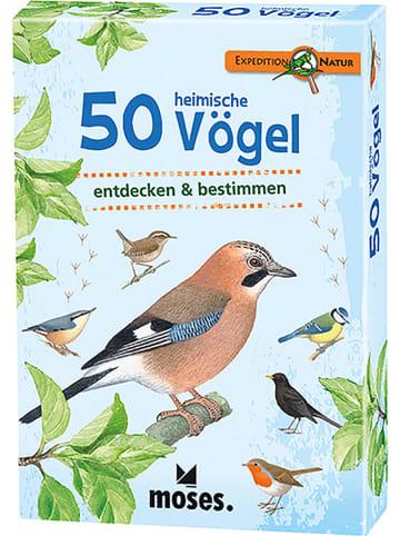 """Moses. Kartenset """"50 heimische Vögel"""" - ab 6 Jahren"""
