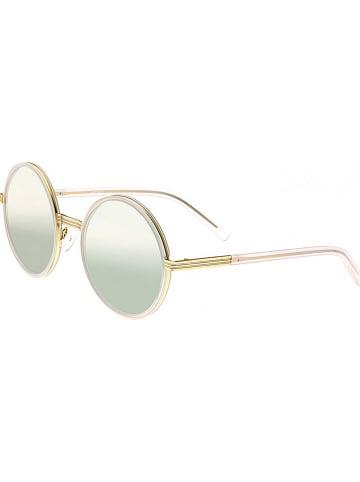 "Bertha Dameszonnebril ""Riley"" goudkleurig/groen"