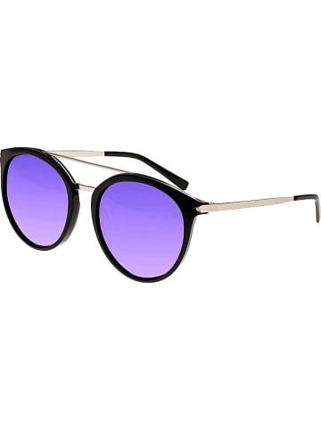 """Sixty One Damskie okulary przeciwsłoneczne """"Moreno"""" w kolorze czarno-fioletowym"""
