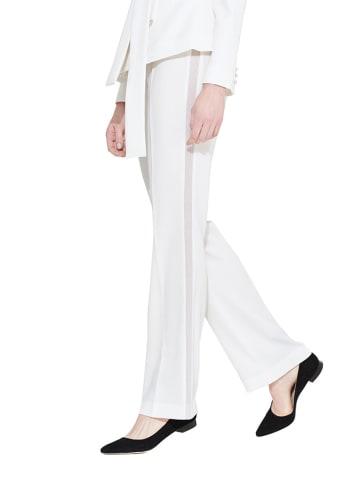 Simple Spodnie w kolorze białym