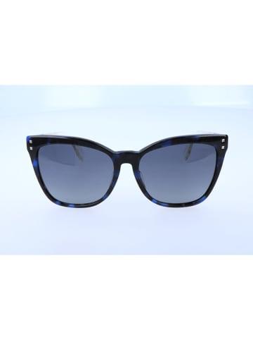 Fendi Damen-Sonnenbrille in Blau-Schwarz/ Blau