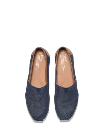 TOMS Instappers donkerblauw