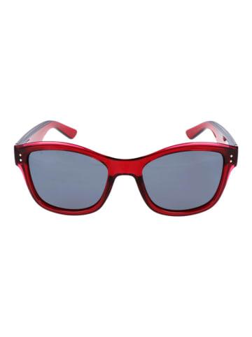 Polaroid Damen-Sonnenbrille in Rot/ Schwarz