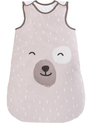 "Tanuki Slaapzak ""Smiling Bear"" bruin/beige"