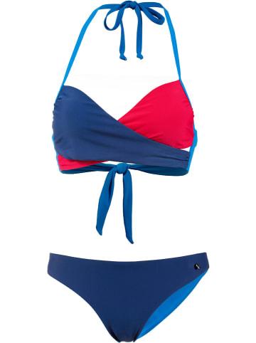 Maui Wowie Bikini in Blau/ Rot