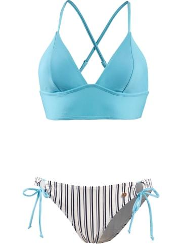 Maui Wowie Bikini w kolorze błękitno-białym