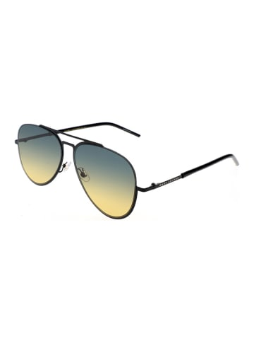 Marc Jacobs Herenzonnebril zwart/blauw-geel