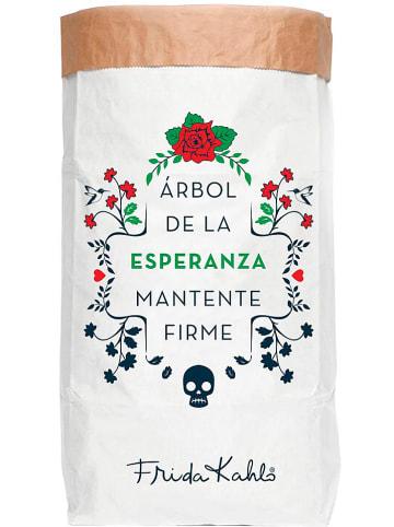 "Madre Selva Torba ""Arbol de la Esperanza"" w kolorze białym - 60 x 90 x 13 cm"