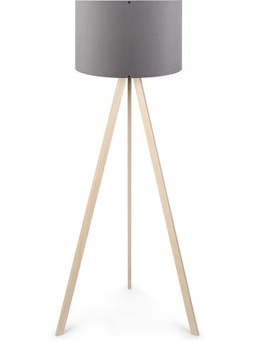 "Evila Staande lamp ""Ayd"" naturel/grijs - (H)140 cm"