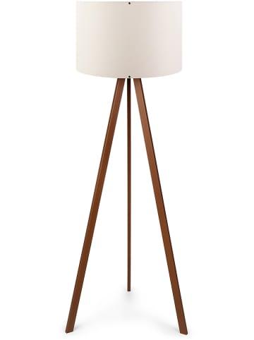 """Evila Lampa stojąca """"Ayd"""" w kolorze brązowo-kremowym - wys.140 cm"""