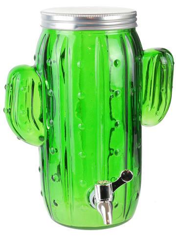 """Garden Spirit Drankdispenser """"Cactus"""" groen - 4 l"""