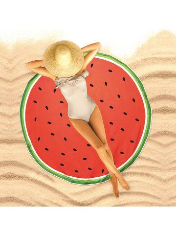 "Garden Spirit Strandlaken ""Watermelon"" rood - Ø 150 cm"