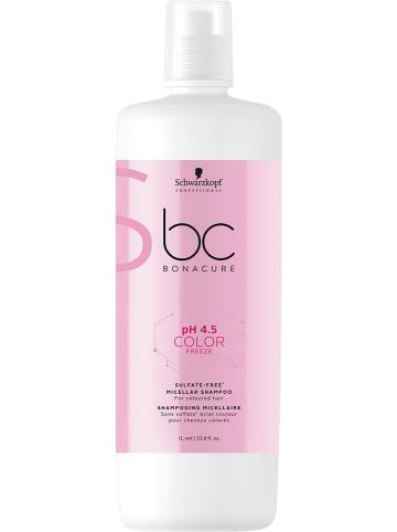"Schwarzkopf Professional Micellaire shampoo ""BC pH4.5 Color Freeze"", 1000 ml"