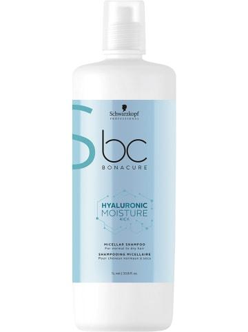 "Schwarzkopf Professional Micellaire shampoo ""BC Hyaluronic Moisture Kick"", 1000 ml"