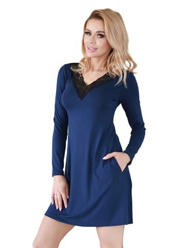 Kalimo Nachthemd donkerblauw