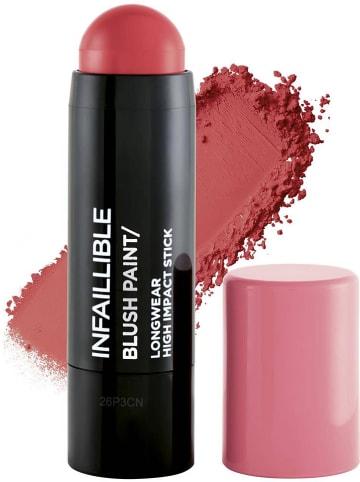 "L'Oréal Paris Kremowy róż ""Infaillible Blush Paint - 1  Pinkabilly"" - 7 g"