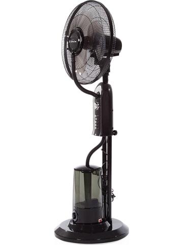 """Pur Line Staande ventilator """"Misty 1"""" met vernevelaar zwart - (H)125 cm"""