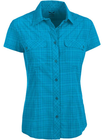 "Salewa Funktionsbluse ""Kitaa 2.0"" in Blau"