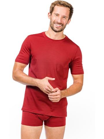 Super.natural Podkoszulek funkcyjny w kolorze czerwonym