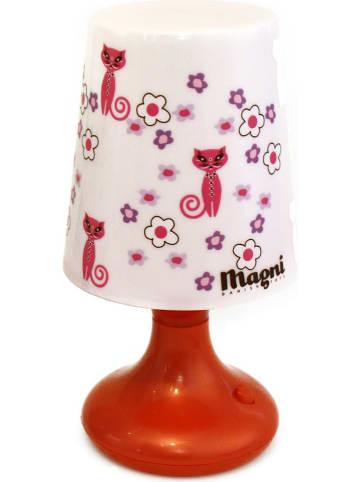 Magni Tafellamp rood - (H)18 x Ø 9 cm