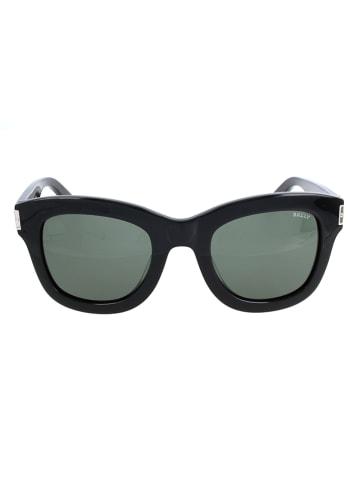 Bally Damskie okulary przeciwsłoneczne w kolorze czarno-szarym